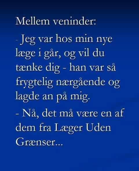 veninder - Sjove vittigheder, gode danske jokes. Visdom.dk