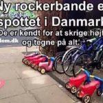 Ny rockerbande er spottet i Danmark, de er kendt for at skrige højt og tegne på alt.