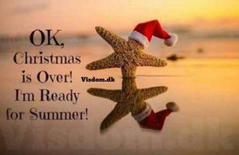 OK, Christmas is over!