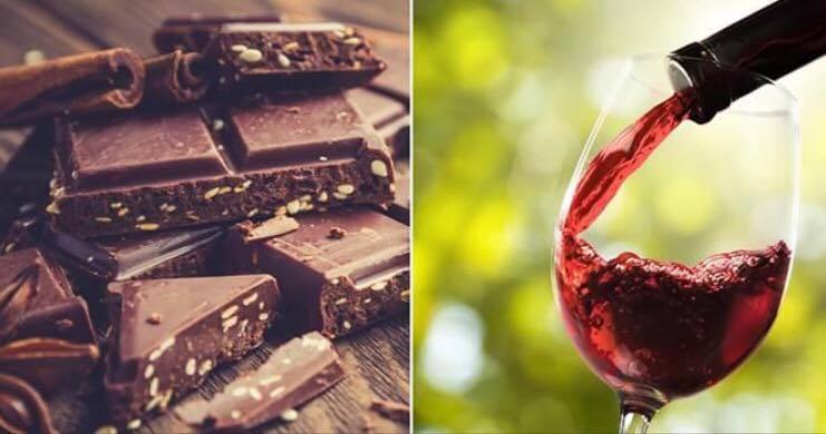 redwine and chocolate