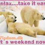 Relax.. Take it easy…