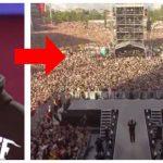 Robbie Williams optræder med nummeret 'Angels' for at mindes ofre fra terrorangreb – Reaktionen fra publikum er dybt rørende!