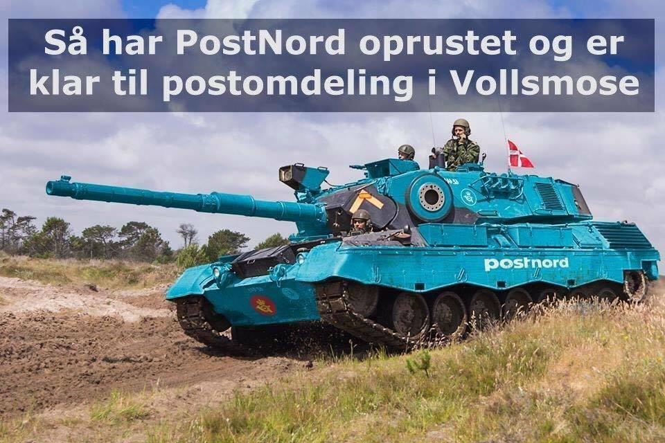 SÅ har PostNord oprustet