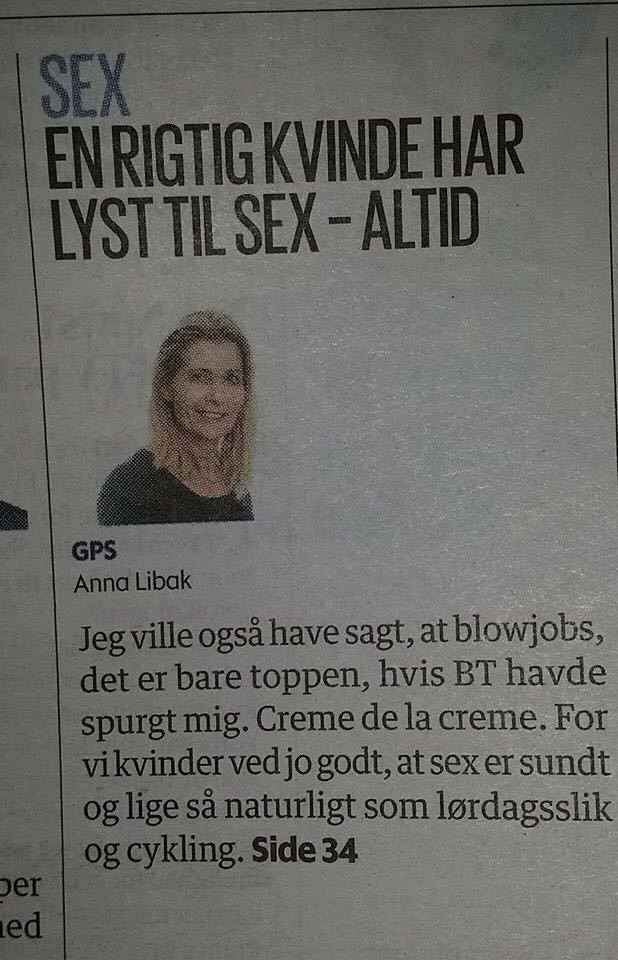 Manglende lyst til sex
