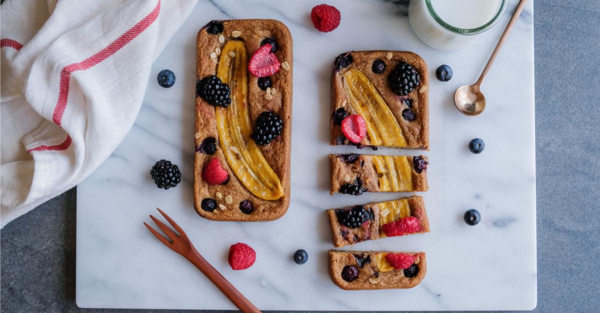 Sundt bananbrød til dessert: Få opskriften her