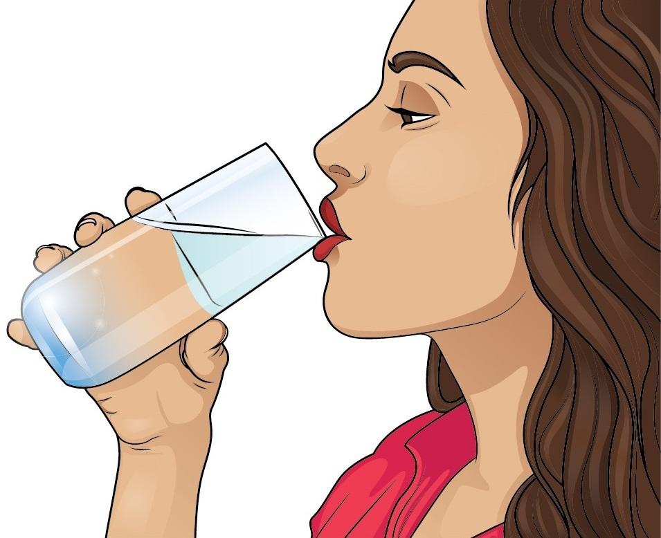 drikke varmt vand