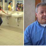 Skoleeleverne efterlader dagligt et vandalisret toilet til pedellen – se så hans geniale hævn