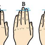 Test dig selv: Din fingerlængde afslører din personlighed – hvad siger dine?