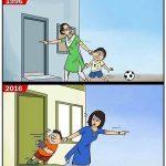 Tiderne ændrer sig jo..tiderne ændrer sig jo..