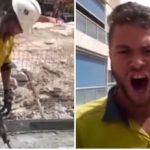Utrolig stemme: Bygningsarbejder chokere alle, han går i Pavarotti fodspor