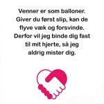 Venner er som balloner..