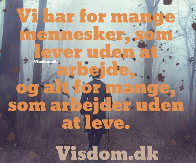 citater om arbejde mennesker   sødeste danske citater, Visdom.dk har lavet de bedste  citater om arbejde