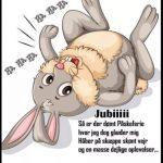 Jubiiii så er der dømt påskeferie..