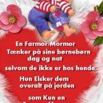 En Farmor/Mormor tænker på sine børnebørn dag og nat