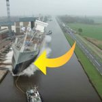 Utroligt: Fartøjet skal søsættes – sekunder efter sker hændelsen