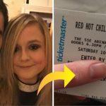Han ville overraske kæresten valentinsdag med koncertbilletter til Red Hot Chili Peppers – men så opdagede de en yderst uheldig detalje