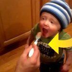 Sønnen smager is for første gang – forældrene havde ikke regnet med denne reaktion