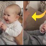 Moren synger klassisk sang – babyens reaktion får klippet til at spredes som en løbeild på nettet!