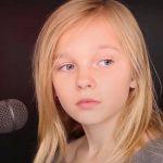 """11-årig pige fortolker """"The Sound of Silence"""" – nummeret har nu givet hele verden gåsehud!"""