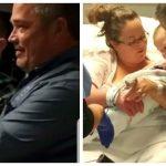 Moren holdte sin nyfødte baby: Når hun løfter tæppet opdager morfar hvad hun har holdt skjult