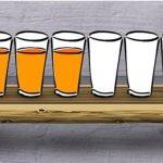 Udfordringen: Kan du få hvert andet ølglas til at blive tomt – ved kun at røre ét af dem?